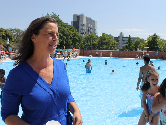 Stephanie Thayer is no longer the executive director of the Open Space Alliance, and she is soon leaving her post as the Parks Department's administrator for North Brooklyn Parks.