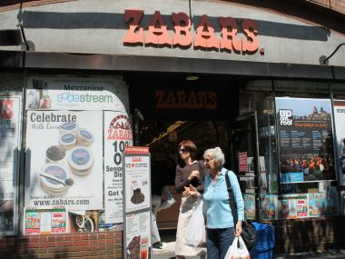 An electrical problem with a refrigeration unit sparked a small fire at Zabar's Wednesday night.