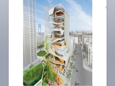 Diller Scofidio + Renfro designed the 14-story tower slated for 104-106 Haven Ave. in Washington Heights.