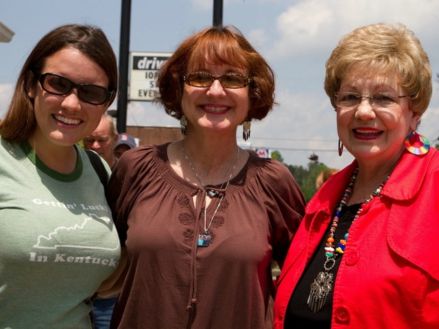 Danielle Thomas with her mother, Jamie Thomas Bright, and her grandmother, Juanita Hardgrove, of Danville, KY.
