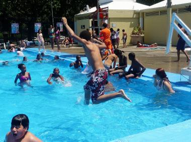 Residents in Central Queens don't have facilities like the Mullaly park pool in the Bronx.