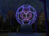 'BUCKYBALL' Sculpture to Illuminate Madison Sq. Park in Millions of Colors