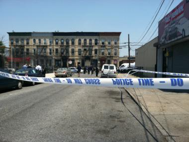 Police shot an armed man Friday morning after a wild chase through Bushwick, Commissioner Ray Kelly said.