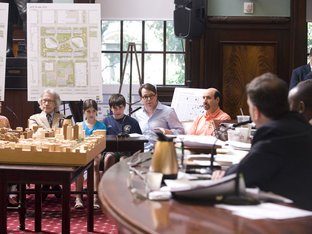 <p>Matthew Broderick was one of the Greenwich Village residents who gave testimony against NYU&#39;s expansion plan on June 29, 2012.</p>