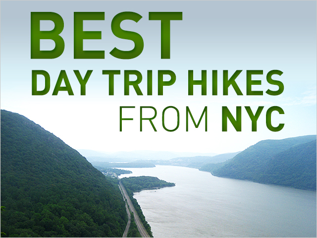 DNAinfo.com New York assembled a list of hikes, and all of them can be easily reached by public transportation.