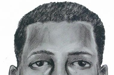 The second suspect is described as a black male, 18-20, wearing dark blue basketball shorts