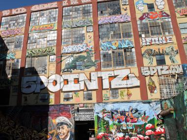 The owners of 5Pointz say they plan to knock down the structure by 2013