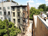 Brownstone Building Collapses in Carroll Gardens