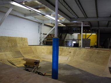 The Stapleton skate park will be the first indoor skate park, and the only in New York City, when it opens this month.
