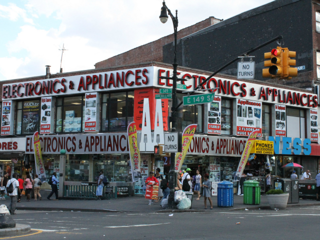 AA Electronics and Appliances opened at the corner of 149th St. and 3rd Ave. in May.