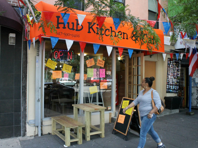 The Hub Kitchen and Café opened at 444 E. 149th St. in May.