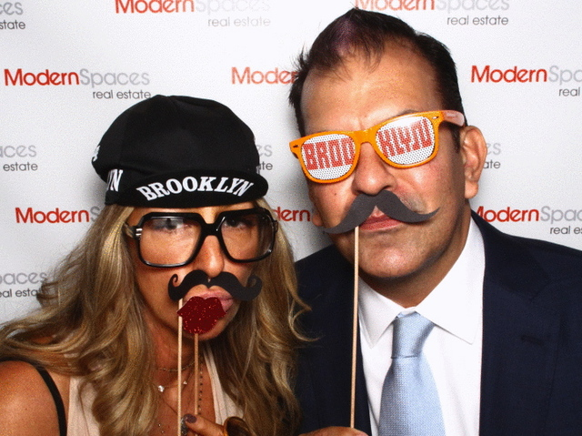 Modern Spaces had The Bosco photo booth.