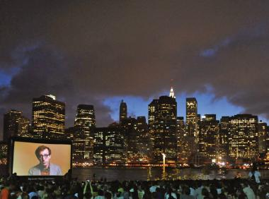 Brooklyn Bridge Park kicks off their thirteenth year of Movies with a View Thursday night.