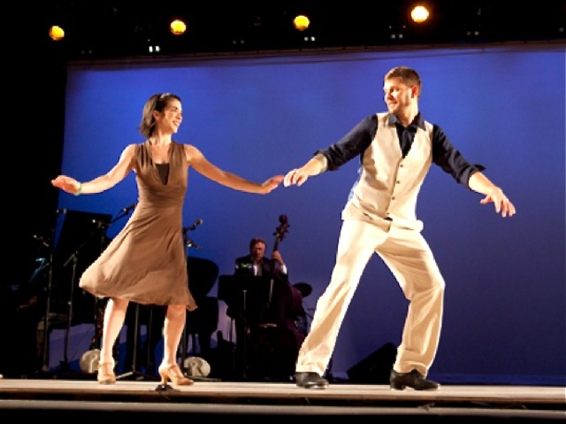 Jazz and Broadway standards will play as the dancers perform in mid-July 2012.