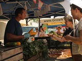 Crowds Jam Into First Forest Hills Greenmarket