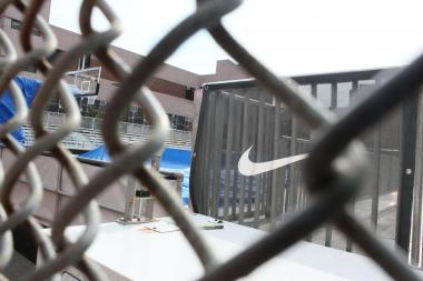 A temporary basketball court constructed by Nike on Rivington Street has taken public space away from residents and keeps them awake with noise, neighbors claim.