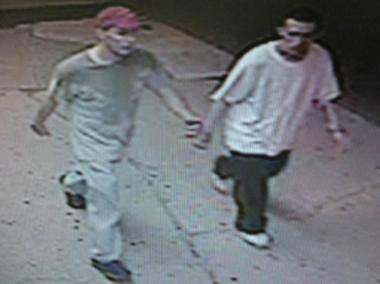 These two men allegedly stole a cash register from an Arden Heights diner early Thursday morning, July 5, 2012, the NYPD said.