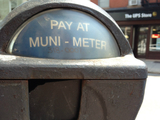 Muni Meters Arrive at Cobble Hill's Court Street