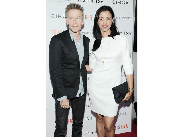 Calvin Klein and Drena DeNiro at the Cinema Society screening of