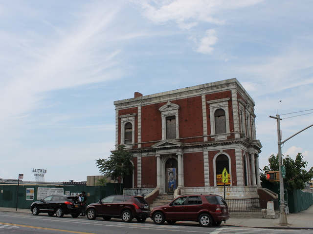 <p>The Coignet building, a landmarked structure that was built in 1873, will remain standing while the Whole Foods is built along side it at Third Street and Third Avenue in Gowanus. The building was put up for sale or lease in January 2013.</p>