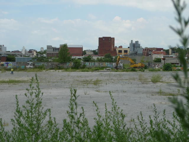 <p>The Whole Foods construction site in Gowanus on Third Street and Third Avenue in the summer of 2012.</p>
