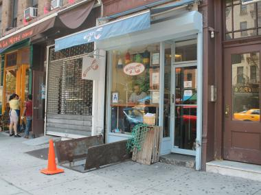 The Upper West Side location of Luke's Lobster has just been approved to create a small outdoor seating space outside its doorstep, which the restaurant believes will draw more customers to the spot.