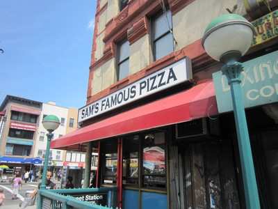 Sam's Famous Pizza workers said they expect to take a financial hit because of the drink ban.