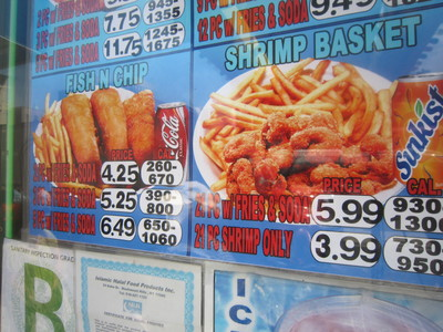 Many specials at Crown Fried Pizza offer soda.