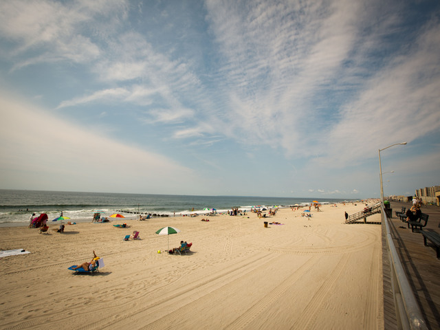 90 Beach and 67 Beach are the two designated spots for surfing in Rockaway.