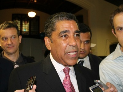 <p>State Sen. Adriano Espaillat launched his re-election campaign Wednesday.</p>
