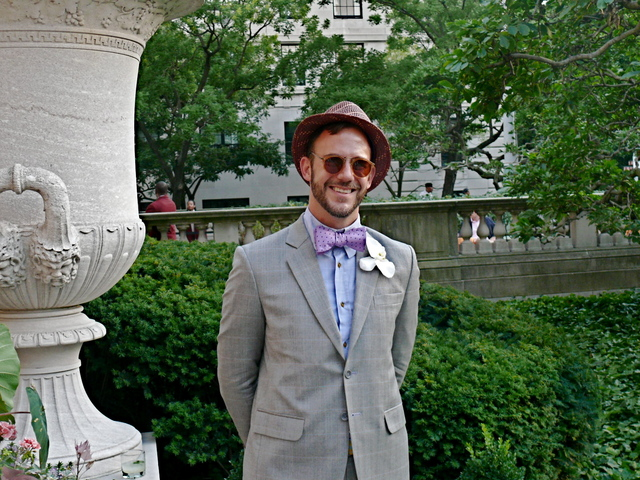 Subtle bespoken summer style on Mr. Cator Sparks- Editor in Chief of Lookbooks.com