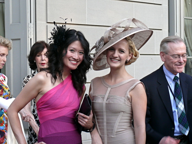 The glamorus and note worthy social style of Kim Le and Annika Connor