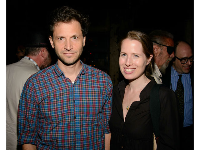 Bennett Miller and Kristen Gore at the premiere of