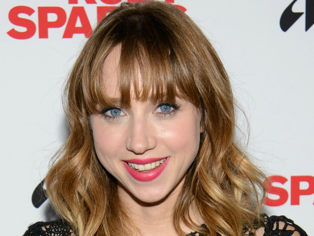 Actress Zoe Kazan at the premiere of