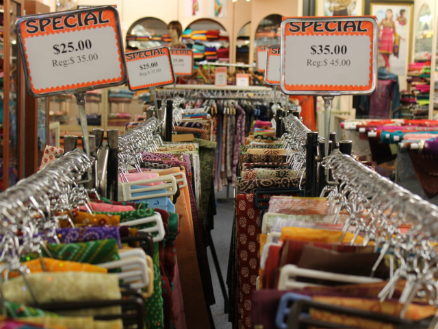 Saris can cost anywhere between $35 to more than $350 dollars per piece.