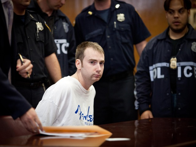 <p>Police officer Nicholas Mina, 31, allegedly stole four 9mm firearms from the seventh-floor locker room at the 9th Precinct in the East Village.</p>