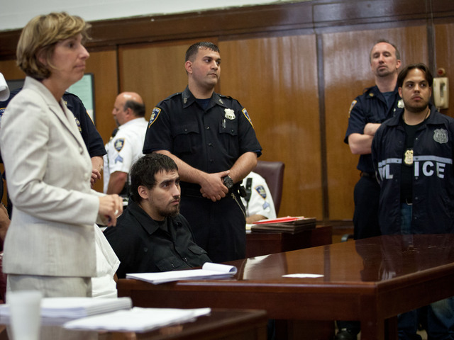 <p>Ivan Chavez, 24, at the court hearing on July 13, 2012.</p>