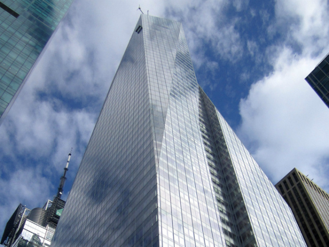 <p>The building at 1 Bryant Park stands 51 stories. Some buildings in Midtown East could rise this tall under new proposed zoning regulations.</p>