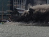 South Street Seaport Workers Chose Not to Pull Fire Alarm During Blaze