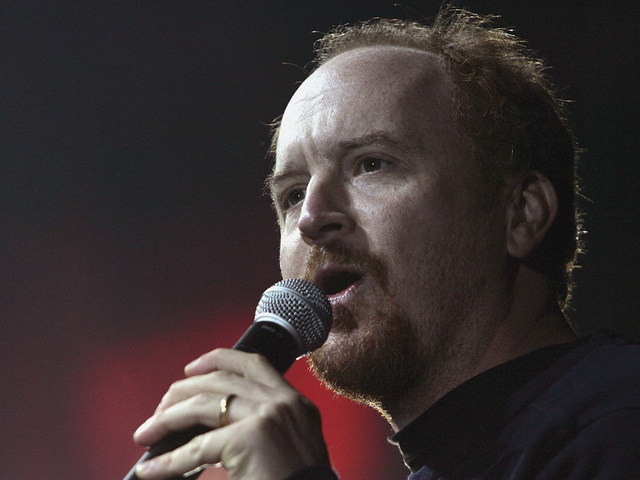 <p>Louis C.K. will headline two benefit shows on Staten Island, with all money to be donated to a local Hurricane Sandy relief fund, Nov. 12, 2012.</p>