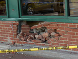 Man Drives Car Into the Wall of a Staten Island Supermarket