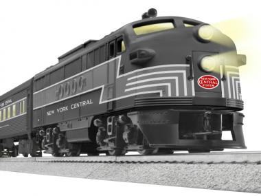The Lionel train company has produced a commemorative train for Grand Central's centennial. The design is modeled after the New York Central line and will be available this fall for $439.99.