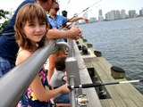 Kids Reel in Catch of the Day at Hudson River Fishing Program