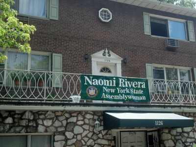 Naomi Rivera's district office on Pelham Parkway South.