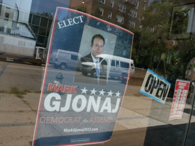 Mark Gjonaj, a real estate agent with deep pockets and ties to the local Albanian community, is also challenging Rivera.