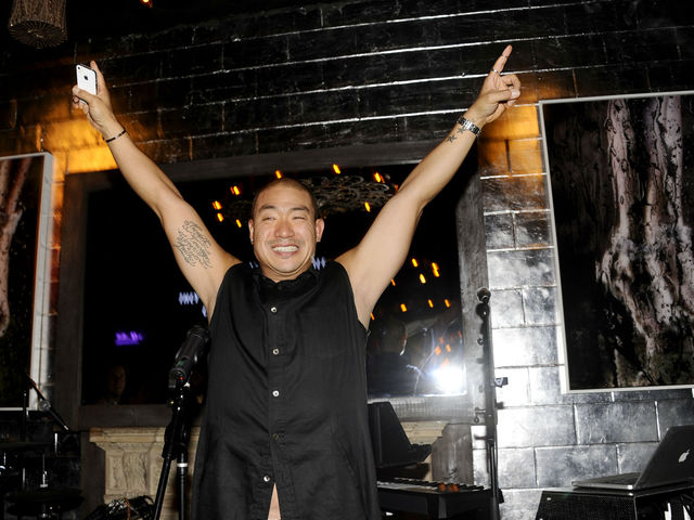 Hudson Jeans CEO Peter Kim at the Hudson Jeans Cabaret at the Electric Room, Wednesday, July 18, 2012.