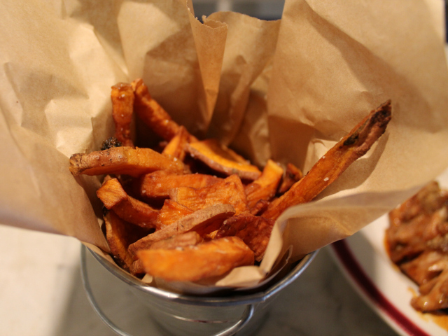 Sweet potato fries at Grandma's House.
