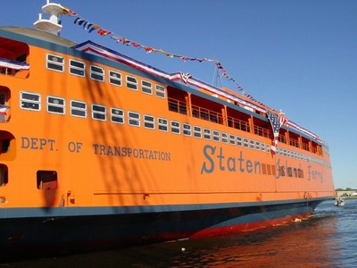 Rep. Grimm has asked the city to rename one of the new Staten Island Ferry boats after former Mayor Rudy Giuliani.