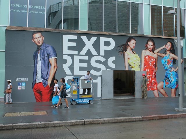 Express is coming soon to the Fulton Street Mall.