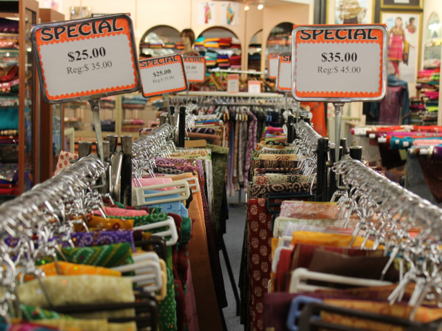 Saris on sale
